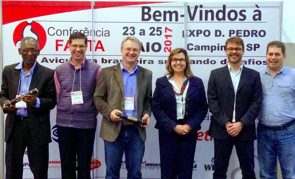 Nosso trabalho foi vencedor do Prêmio Lamas 2017, na Conferência Facta.